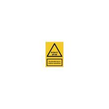 Skilt A311 Asbestaffald 210x297 plast product photo