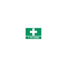 Skilt H400 Førstehjælp 210x297 plast product photo