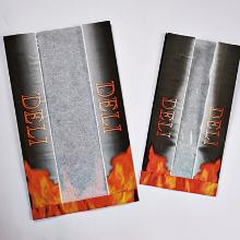 Varmepose med rude med flamme Deli tryk 200/75x350mm product photo
