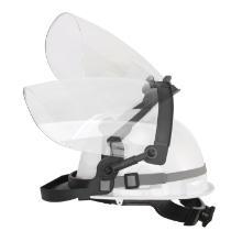 Hjelmadapter Turboshield sort forstærket nylon product photo
