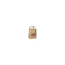 Bærepose Heldig Kartoffel brun papir 6l 180x105x230mm med hank product photo
