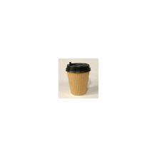 Kaffebæger brun 30cl / 12oz Ø90mm ripple wrap product photo
