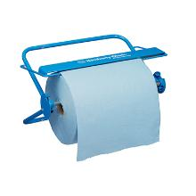 Dispenser aftørringsrulle KC Professional blå metal vægstativ/bordstativ product photo