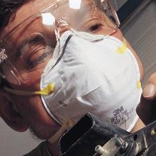 Støvmaske 8710 godkendt i klasse FFP1 NR D product photo