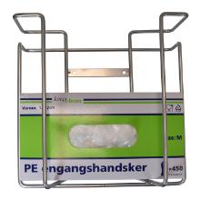 Handskedispenser stål til 2 æsker handsker product photo
