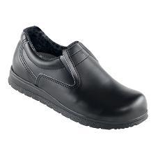 Sikkerhedssko Classic hyttesko sort bred fodformet S2 product photo