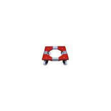 Platformsvogn rød 410x410cm til ostekasse product photo