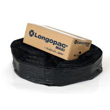 Plastslange Longopac sort m/strips til Maxi stativ Ø57cm product photo