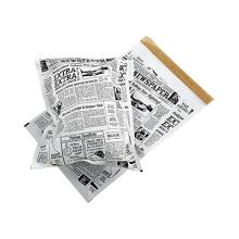 Pose Old News papir/PE 360x260mm med tapelukning product photo