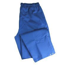 Buks HACCP Unisex blå m/trykknap i ben polyester/bomuld 245g/m2 product photo