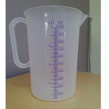 Litermål klar plast 3 liter med målindikation product photo