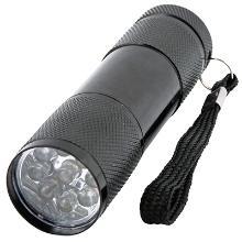 Lommelygte LED 9 dioder vandafvisende product photo