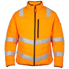 Termojakke quiltet FE safety EN20471 orange 100% polyester 100g/m2 DuPont product photo