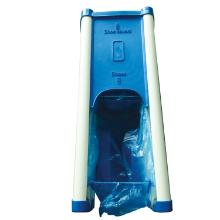 Dispenser blå 55x23x18.5cm til skoovertræk product photo
