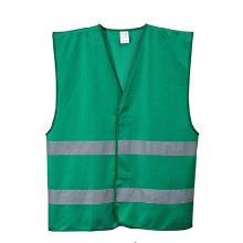 Sikkerhedsvest grøn 100% polyester 125g product photo
