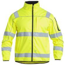Jakke softshell FE Safety EN ISO 20471 gul polyester product photo
