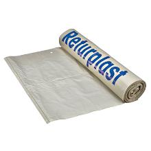 "Knudesæk Print ""Returplast"" klar plast m/perforering 45/20x160cm 50my product photo"