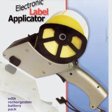 Etiketapplikator pistol elektronisk incl. strømforsyning product photo