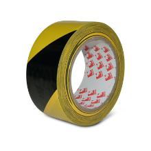 Gulvtape Denfoil stribet sort/gul 50mmx33m product photo