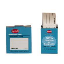 Etiket 30x50mm vandopløselig til sporbarhed product photo