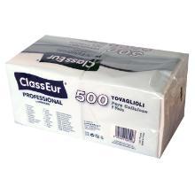 Serviet ClassEur Professional hvid 1/4 fold 33x33cm 1 lag product photo