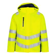 Vinterjakke FE Ladies Safety EN ISO 20471 gul/blue ink polyester product photo