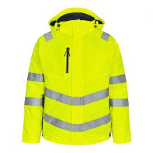 Vinterjakke FE Safety EN ISO 20471 gul/blue ink polyester product photo