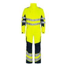 Kedeldragt FE Safety Light EN ISO 20471 gul/blue ink polyester/bomuld product photo