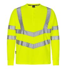 T-shirt FE Grandad Safety EN ISO 20471 gul polyester/bomuld l/æ product photo