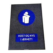 Måtte med logo Host og nys i ærmet! 90x150cm product photo
