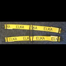 Seler ELKA gule med sort logo passer til ELKA overalls product photo