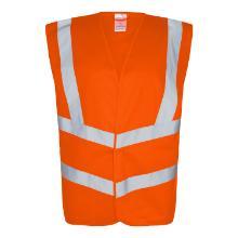 Sikkerhedsvest orange EN ISO 20471 klasse 2 product photo