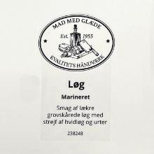 Etiket marinade Würzöl Naturell løg product photo