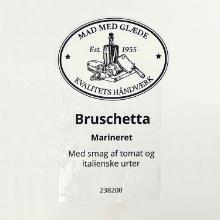 Etiket marinade Würzöl Naturell bruschetta product photo