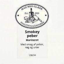 Etiket marinade Würzöl Naturell smokey peber m/havsalt product photo