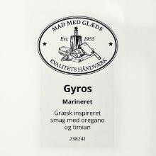 Etiket marinade Würzöl gyros havsalt product photo