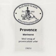 Etiket marinade Würzöl Provence oregano/hvidløg med havsalt product photo