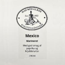 Etiket marinade Hela Würzöl Mexico oliebaseret product photo