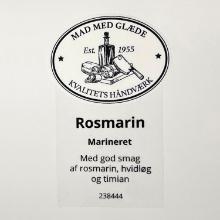 Etiket marinade Hela Würzöl rosmarin oliebaseret product photo