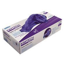 Handske KC Science Purple 30cm nitril S product photo