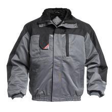 Jakke FE vinter Enterprise pilot med foer grå/sort polyester m/PU product photo
