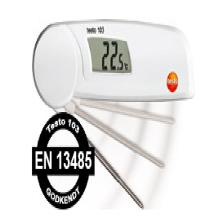 Termometer Mini 103 foldbart m/indstik -30 til +220 grader product photo