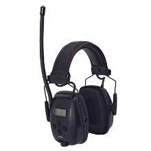Høreværn Sync m/digital AM/FM radio sort product photo