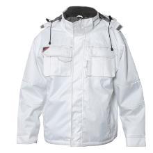 Jakke FE Combat pilot hvid Oxford polyester m/PU product photo