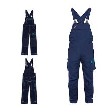 Overall FE Galaxy blue ink/dark petrol polyester/bomuld product photo