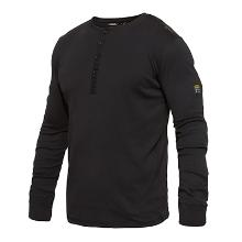 T-shirt Grandad FE Standard l/æ sort bomuld/viskose product photo