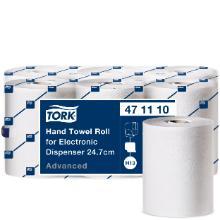 Håndklæderulle Tork H13 hvid 24.7cm 143m 2 lag t/elektronisk disp (enMotion) product photo