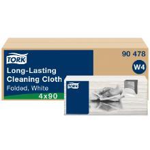Specialklud Tork Alt-i-en Top-Pak W4 hvid Excel Clean 428x355mm product photo