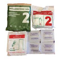 Førstehjælp refilpakke 2 til førstehjælpstaske product photo