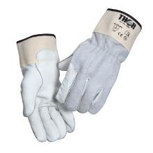 Handske spalt overhånd / oksehudsskind håndflade syet med kevlartråd product photo